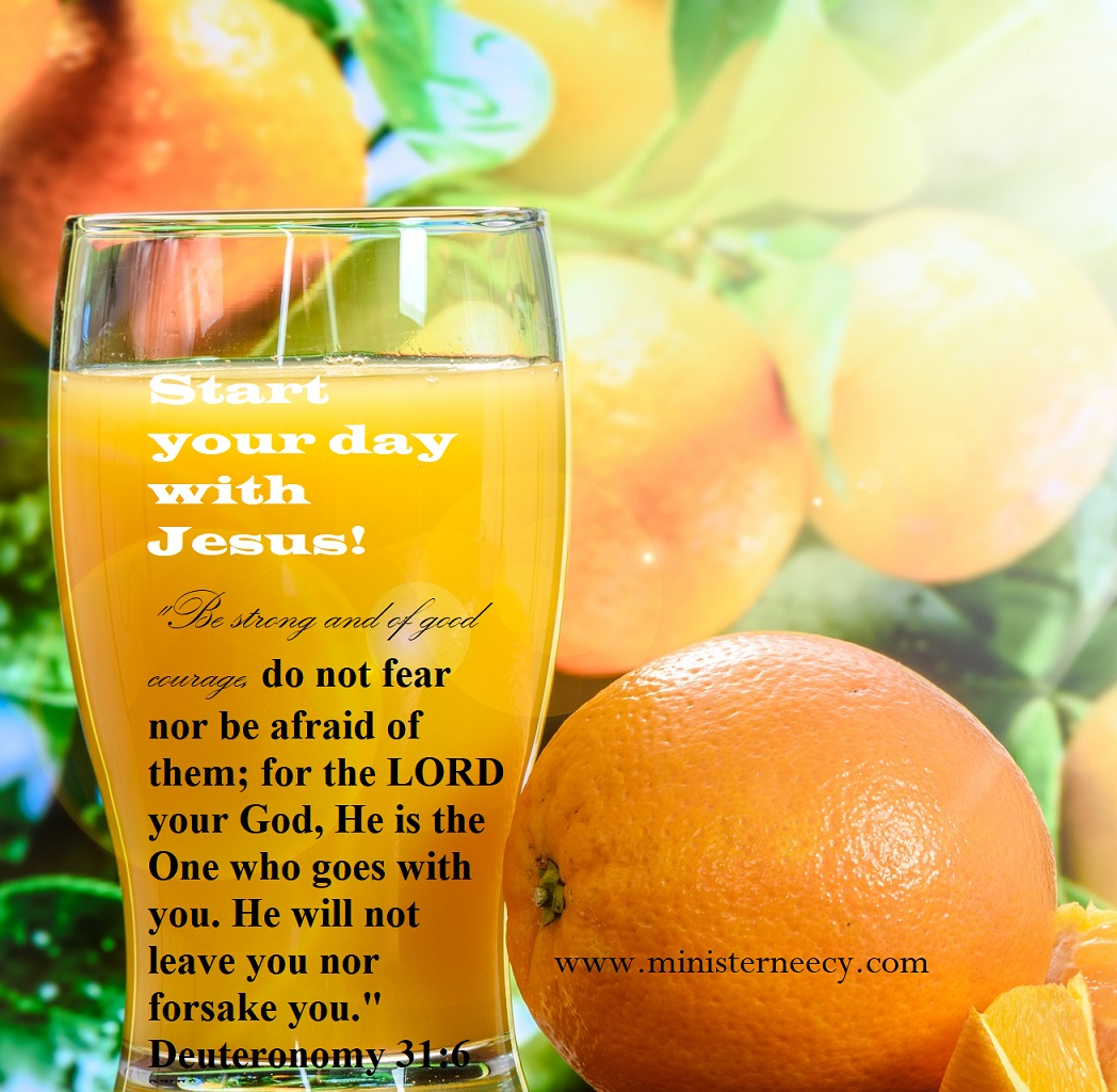 Start your day with Jesus!