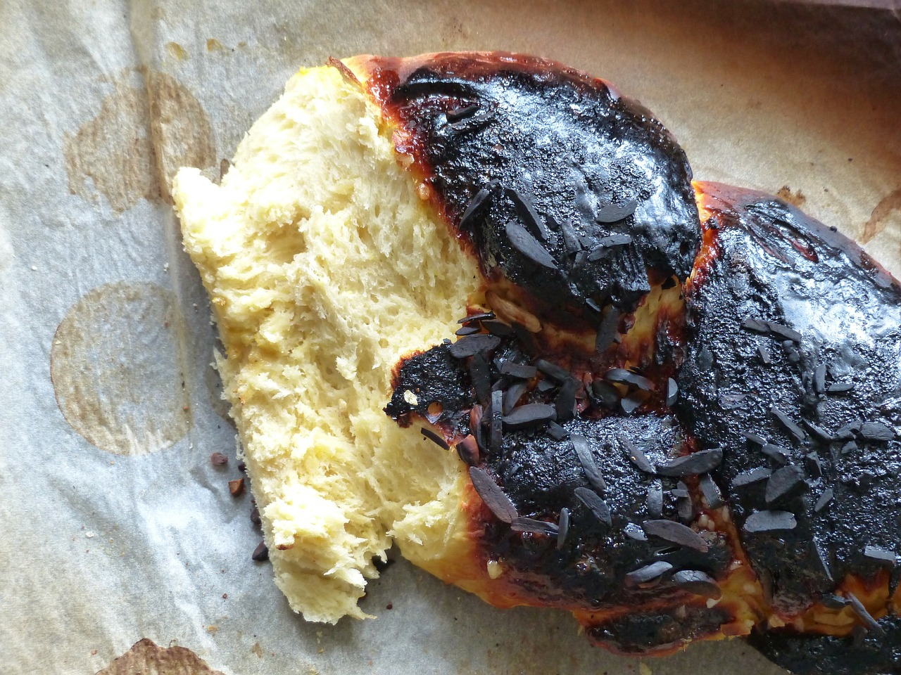 Burned Biscuits - Author Unknown
